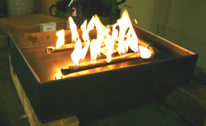indoor ventless propane burner