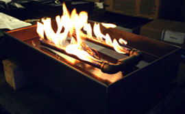 Propane Pans for fireplaces